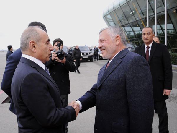 İordaniyanın Kralı II Abdullahın Azərbaycana rəsmi səfəri başa çatıb - FOTO