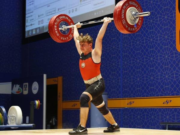 Ağır atletimiz Avropa birinciliyində bürünc medal qazanıb