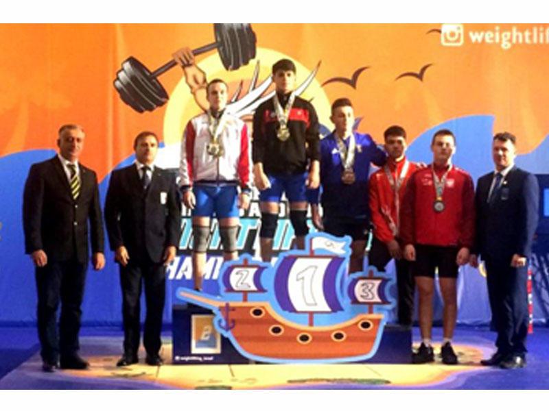Azərbaycanlı idmançıdan Avropa rekordu