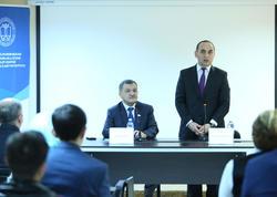 İlahiyyat İnstitutunda Ulu Öndər Heydər Əliyevin anım günü ilə bağlı tədbir keçirilib - FOTO