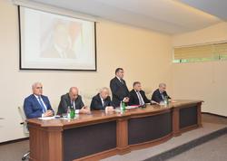 Heydər Əliyev irsi elmi ideyalara əsaslanan dövlətçilik məktəbidir - FOTO