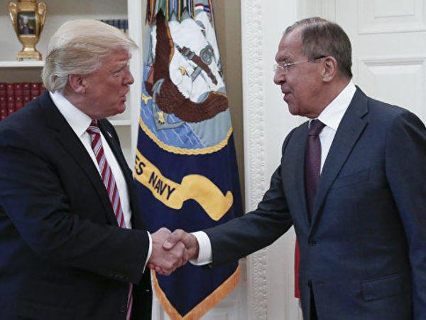 Vaşinqtonda Tramp və Lavrov arasında görüş baş tutub