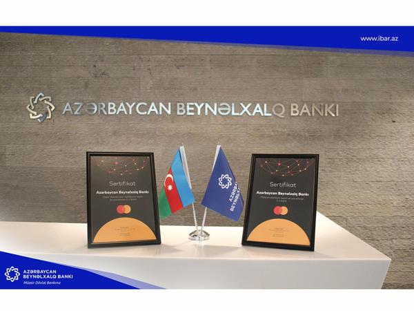 MasterCard Azərbaycan BeynəIxalq Bankına 2 mükafat verdi