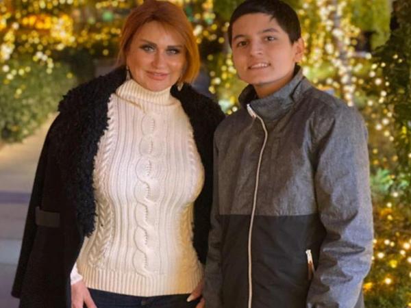 """Mələkxanım Əyyubova bu dəfə oğlunun <span class=""""color_red"""">FOTOlarını paylaşdı</span>"""