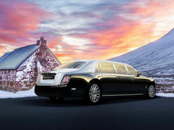 "Yeni Rolls-Royce Phantom yeddi metrlik limuzinə çevrildi – <span class=""color_red"">3 milyon dollar</span>"