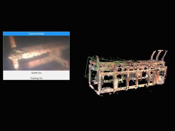 Dünyanın ilk canlı 3D dənizaltı izləmə texnologiyası