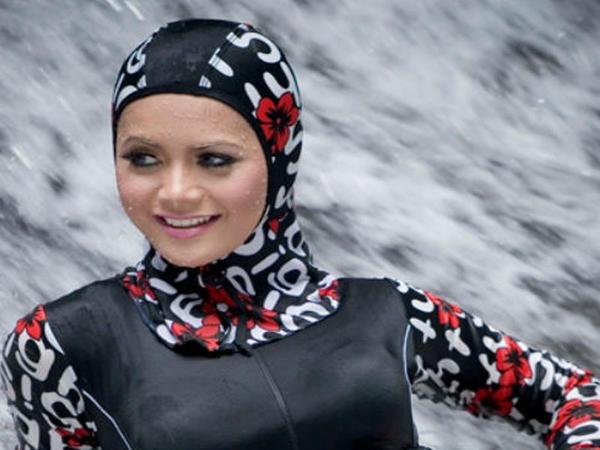 """Müsəlman qadınları üçün çimərlik geyimi hazırlandı - <span class=""""color_red"""">FOTO</span>"""