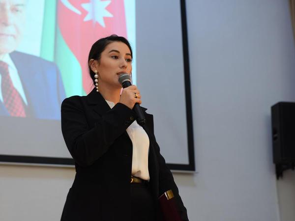 ADU-da Ümummilli lider Heydər Əliyevin anım mərasimi keçirilib - FOTO