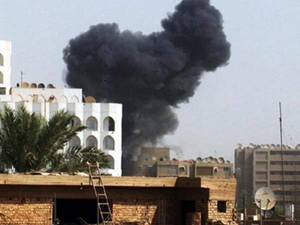 Bağdadda hava limanı raketlə vuruldu