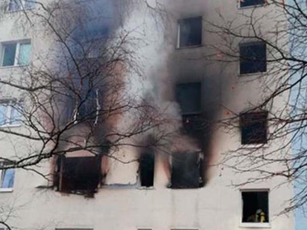 """Almaniyada yaşayış binasında partlayış - <span class=""""color_red"""">1 ölü, 25 yaralı</span>"""