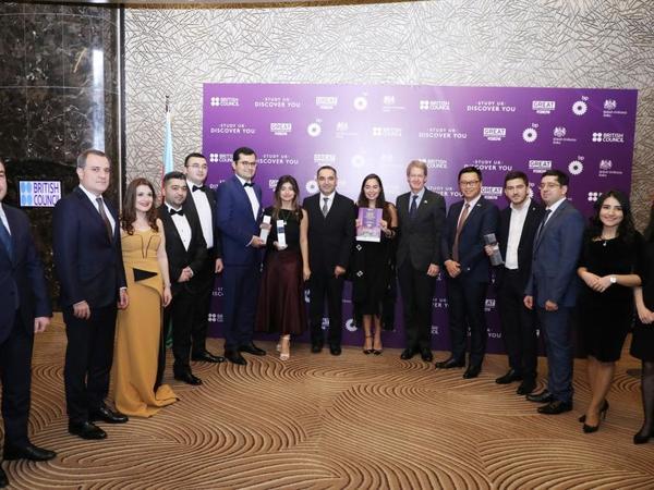 """Heydər Əliyev Fondunun vitse-prezidenti Leyla Əliyeva """"Study UK Alumni Awards 2019""""un qaliblərinin elan olunması mərasimində iştirak edib - FOTO"""