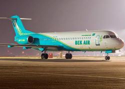 """Qazaxıstanda """"Bek Air"""" aviaşirkətinin fəaliyyəti dayandırıldı"""