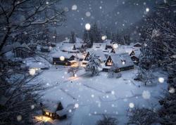 Yaponiyanın qış nağılı belə olur - FOTO