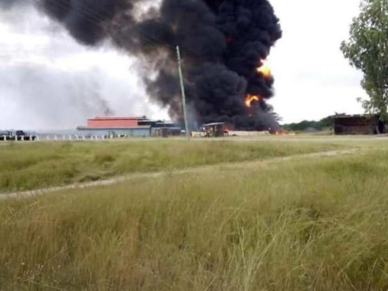 ABŞ hərbi bazasına hücum: 2 təyyarə və 2 helikopter yandırıldı