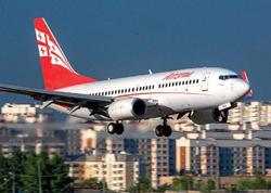 Gürcüstan hava limanlarında sərnişindaşıma 3 faiz artıb