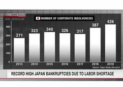 Yaponiyada işçi qüvvəsinin çatışmamasına görə müflis olan şirkətlərin sayı rekord həddə çatıb