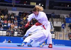 İrina Zaretska Karate 1 Seriya A turnirində gümüş medal qazanıb