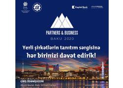 """Kapital Bank """"Partners and Business"""" sərgisinin tərəfdaşı olacaq"""