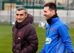 Messi Valverde ilə vidalaşdı