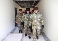 Zakir Həsənov tikintisi yekunlaşmaq üzrə olan hərbi obyektlərə baxış keçirib - FOTO