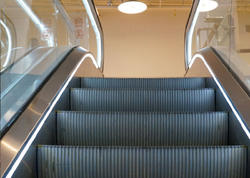 "Bakı metrosunda həyəcanlı anlar - <span class=""color_red"">Eskalator dayandı - VİDEO</span>"