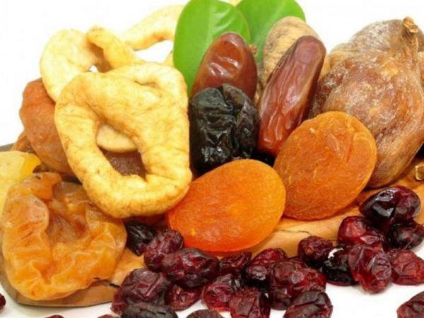 Quru meyvələrin faydası