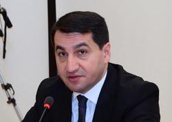 """Hikmət Hacıyev: """"Azərbaycan Davos İqtisadi Forumunda çox fəal iştirak edir"""""""