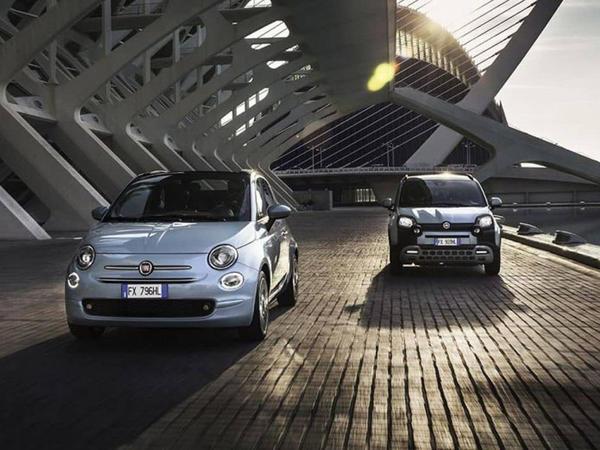 Fiat 500 və Panda modelləri hibrid olublar - FOTO
