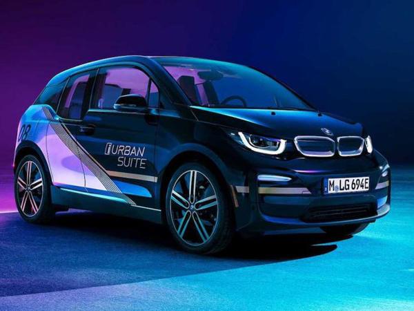BMW i3 modelini ofisə çevirib - FOTO