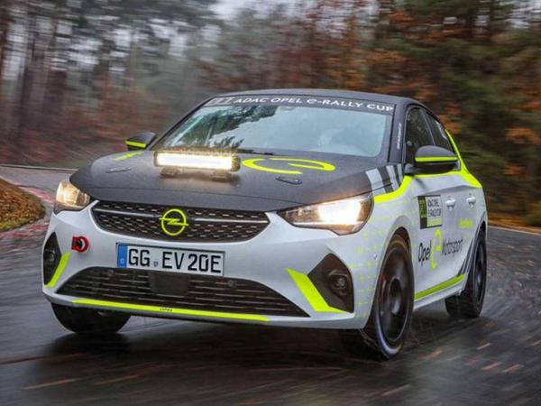 Opel ralli elektrokarının sınaqlarına başlayıb - FOTO