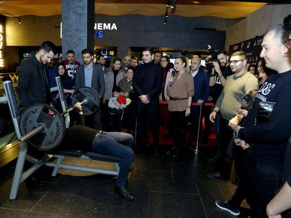 """""""CinemaPlus""""da dünya şöhrətli ağır atlet Naim Süleymanoğlu haqda film nümayiş edildi"""