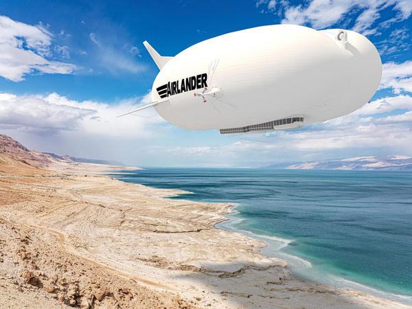 Dünyanın ən böyük hava gəmisinin seriyalı versiyası təqdim edilib