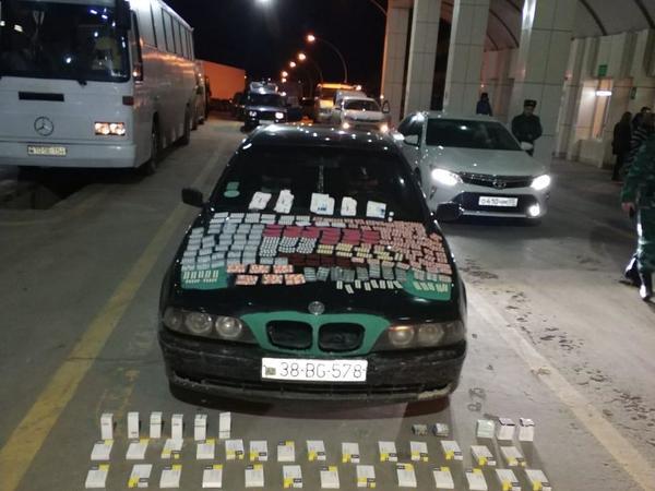 Azərbaycana külli miqdarda dərman preparatları keçirməyə çalışdılar - FOTO