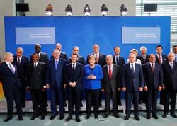 Berlin sammiti: Liderlər Liviyada döyüşlərə son qoyulmasına çalışır - FOTO