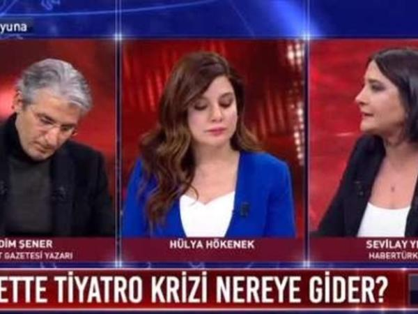 """Jurnalistlər canlı yayımda bir-birini təhqir etdi: """"Sizin kimi utanmazlar ..."""" - VİDEO"""