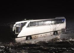 """Türkiyə klubunun avtobusu qəzaya uğradı: <span class=""""color_red"""">yaralılar var</span>"""