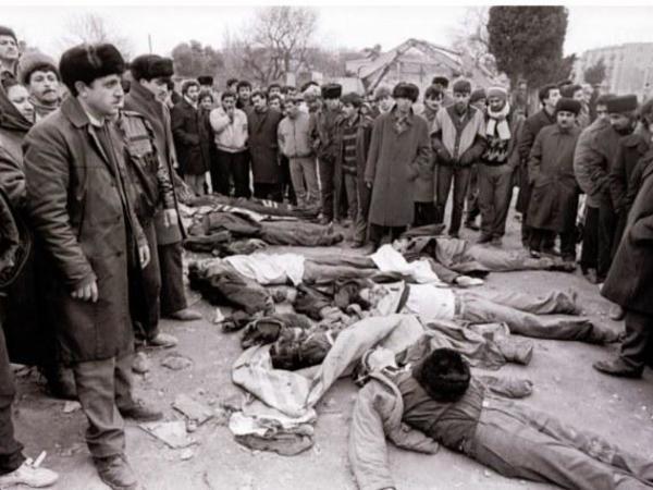 """Şəhid övladı: """"20 Yanvar şəhidləri qanları bahasına Azərbaycana müstəqillik qazandırdı"""""""