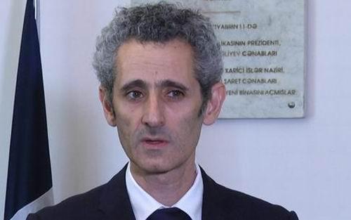 Fransa səfiri Azərbaycan xalqına başsağlığı verib