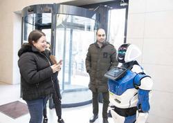 Azərbaycan Beynəlxalq Bankında robot!