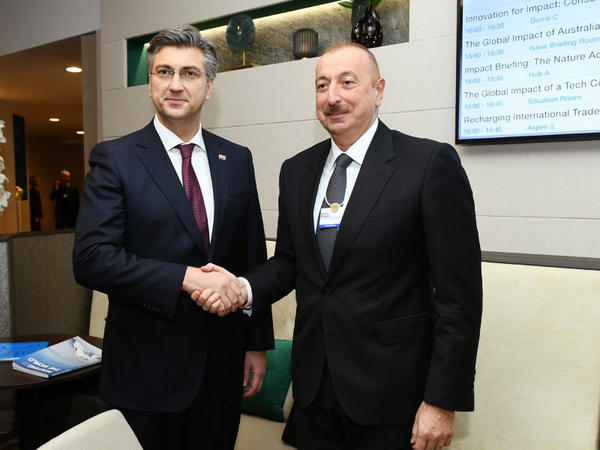 Azərbaycan ilə Xorvatiya arasında əməkdaşlığın perspektivləri müzakirə edilib