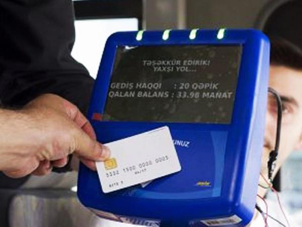 Bakıda 29 marşrut üzrə 598 avtobus kart sisteminə keçdi