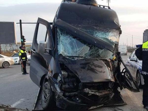 """Sumqayıtda """"Mercedes"""" piyadanı vurub öldürdü"""