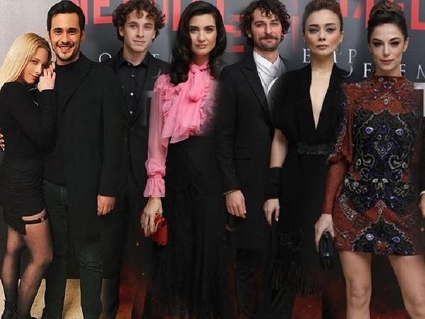 """Tuba Büyüküstünün """"Netflix""""dəki serialı təqdim edildi - <span class=""""color_red"""">VİDEO - FOTO</span>"""