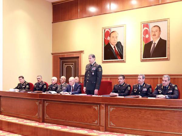 """Vilayət Eyvazov generalları topladı - <span class=""""color_red"""">FOTO</span>"""