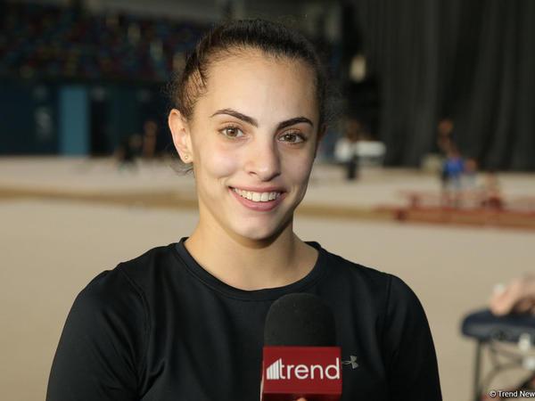 """İsrail gimnastı Linoy Aşram: """"Milli Gimnastika Arenasında özümü evdəki kimi hiss edirəm"""""""
