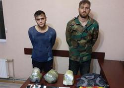 Biləsuvarda 16 kq-dan artıq narkotik vasitə və silah-sursat aşkarlandı - FOTO
