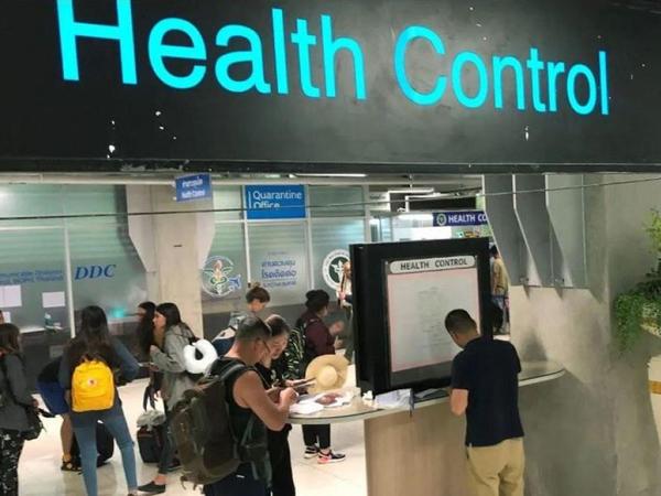 Tehran aeroportunda sərnişinlər virus testindən keçirilir