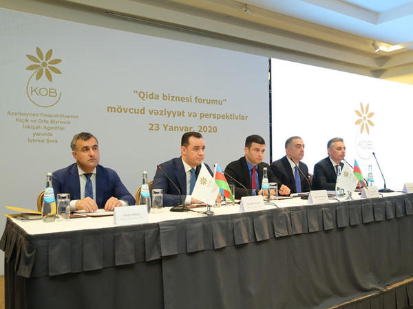 KOBİA yanında İctimai Şuranın növbəti forumunda qida biznesi məsələləri müzakirə edilib - FOTO