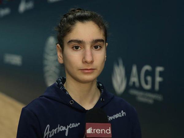 """Azərbaycan gimnastı: """"Mən bütün gücümü Bakıdakı Dünya kubokuna yönəldəcəyəm"""""""