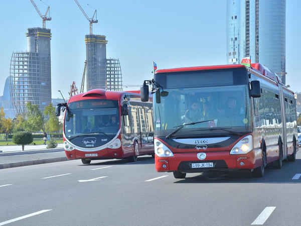 Bu marşrut avtobuslarının hərəkət sxemi dəyişdirilib